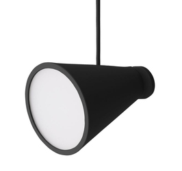 Lampa Bollard czarna