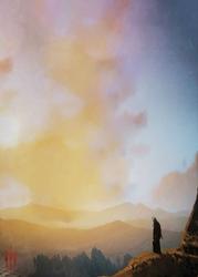 Wiedźmin - geralt on the hunt - plakat wymiar do wyboru: 29,7x42 cm