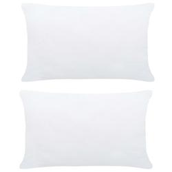 Vidaxl wkłady do poduszek, 2 szt., 50x30 cm, białe