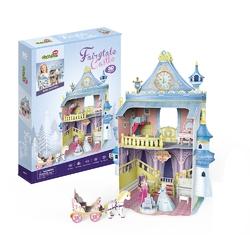Puzzle 3D Domek dla lalek Bajkowy Zamek - Fairytale Castle