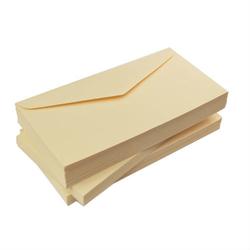 Koperta DL 120 g - KREMOWY - kremowy