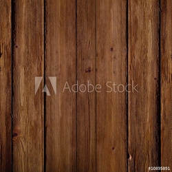 Plakat na papierze fotorealistycznym tekstura drewna