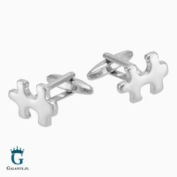 Spinki do mankietów puzzle x2 nc009