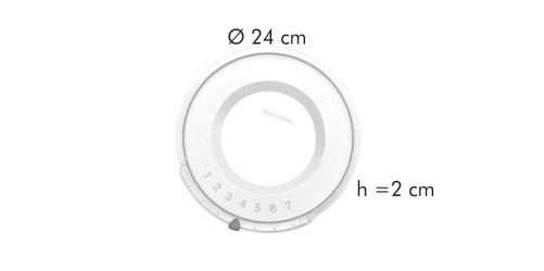 Tescoma plastikowa pokrywka unicover 24 cm