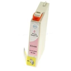 Tusz zamiennik t0486 do epson c13t04864010 jasny purpurowy - darmowa dostawa w 24h