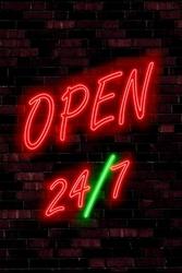 Open 247 - plakat