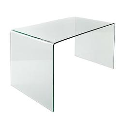 Biurko Glassow, 100x75, szklane