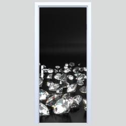 Fototapety na drzwi diamenty 619a