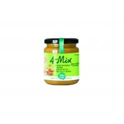 Krem orzechowy mix 4 orzechy bio 250 g - terrasana