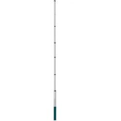 Maszt aluminiowy flagowy teleskopowy 6,3m