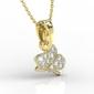 Wisiorek z żółtego złota z diamentami bpw-45z-r