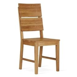 Nowoczesne dębowe krzesło koleta