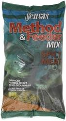 Zanęta Sensas do metody METHOD MIX SPICY MEAT 1kg