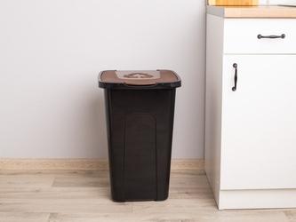 Kosz  pojemnik do segregacji śmieci keeeper 50 l brązowy
