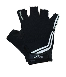 Rękawiczki rowerowe vivo czarne sb-01-5038