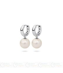 Fc kolczyki wiszące z perłą 3061221083 pm 12 kolor biały opalizujący
