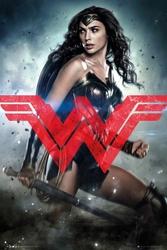 Batman vs Superman Wonder Woman - plakat