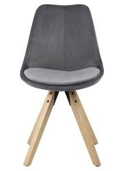 Krzesło z poduszką na siedzisku dima vic welur