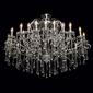 Salonowy żyrandol z kryształami chiaro crystal 458010524