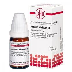 Acidum nitricum d 6 dil.