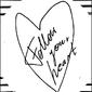 Podążaj za sercem - plakat wymiar do wyboru: 61x91,5 cm