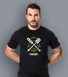 Piwowar domowy 3 t-shirt męski czarny l