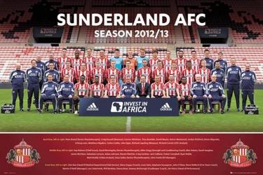 Sunderland team photo 1213 - plakat