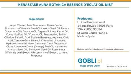 Kerastase aura botanica essence declat dwufazowa mgiełka bez spłukiwania 100ml