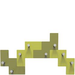 Wieszak ścienny Clo Clo CalleaDesign oliwkowo-zielony 13-001-54