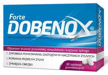 Dobenox 0,25g x 30 tabletek