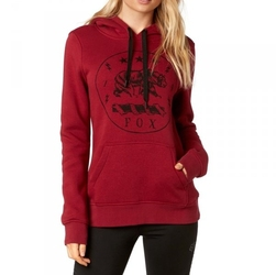 Fox lady translunar dark red bluza z kapturem