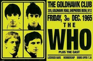 The who goldhawke club - plakat
