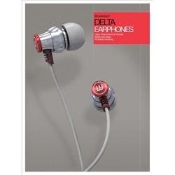 Brainwavz delta z mikrofonem kolor: srebrny