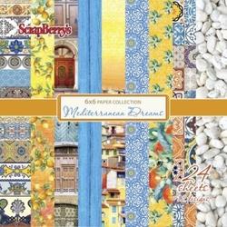 Zestaw papierów Mediterranean Dreams 15x1524 szt. - MEDR