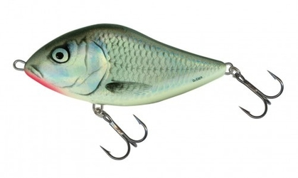 Wobler salmo slider sd7s holographic grey shiner
