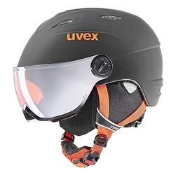 Kask narciarski uvex junior visor pro 46-52cm czarny