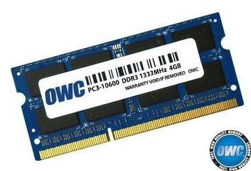 OWC Pamięć SO-DIMM DDR3 4GB 1333MHz CL9 Apple Qualified