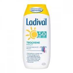 Ladival mleczko ochronne do skóry suchej spf50+
