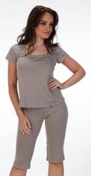 De lafense kropki 527 plus piżama damska