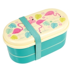 Śniadaniówka bentobox, flamingo bay, rex london - flamingo bay