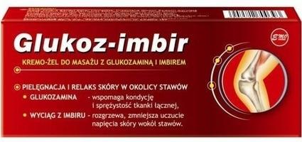 Glukoz-imbir kremo-żel do masażu 70g