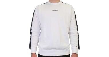 Champion crewneck sweatshirt 214224-ww001 l biały
