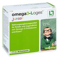 Omega 3-loges junior drażetki do żucia
