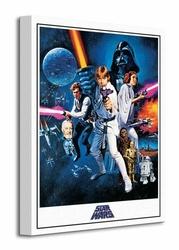 Star Wars Episode IV A New Hope One Sheet - Obraz na płótnie