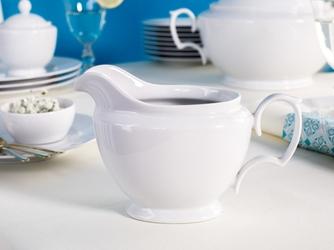 Sosjerka porcelana karolina mariapaula biała 400 ml