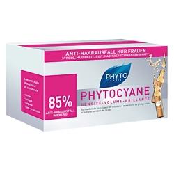 Phyto phytocyane ampułki na wypadanie włosów dla kobiet