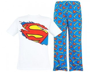 Męska piżama superman superhero s