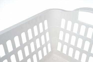 Plast team kosz na pranie 45 l biały