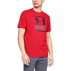 Koszulka męska under armour gl foundation ss t - czerwony