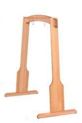 Drewniany stojak na gong do średnicy 60 cm - wersja wysoka 155 cm
